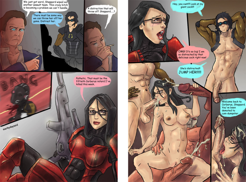 commander_shepard femshep illusive_man kai_leng markydaysaid mass_effect
