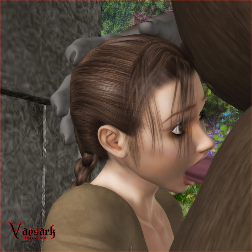 3d female feral fur human interspecies lara_croft male straight tagme tomb_raider vaesdrk zoophilia