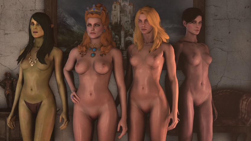 Witcher 3 Naked