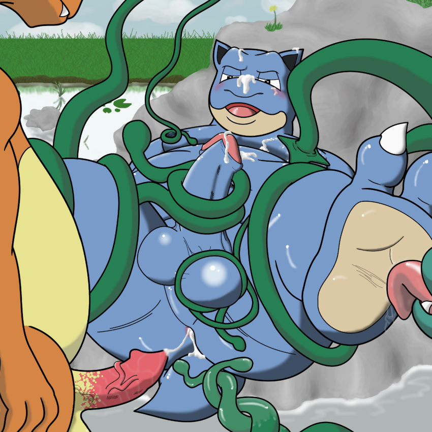 Pity, that Charizard has sex with blastoise that can