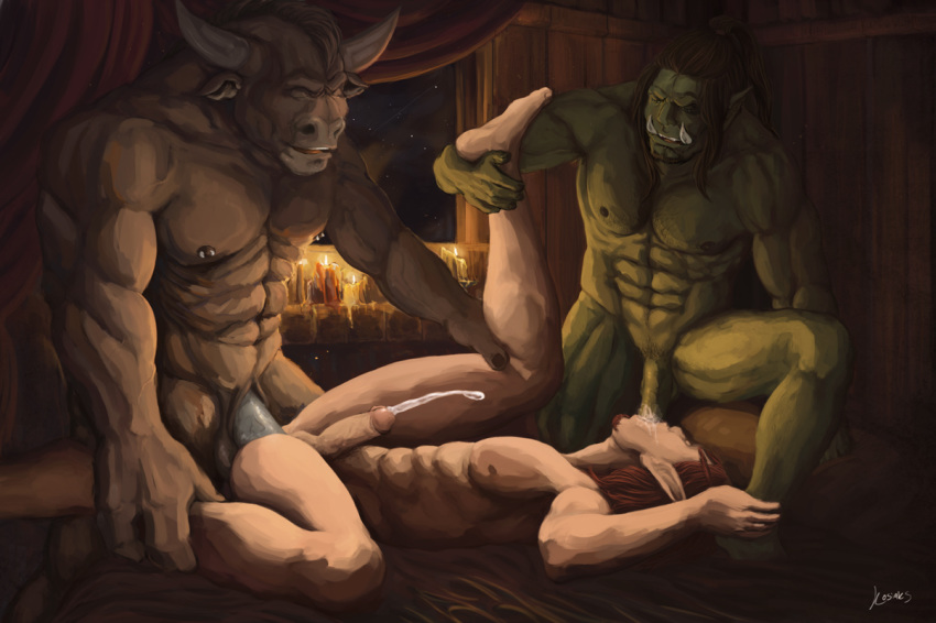 3boys blood_elf gay green kosiaks male male_only orc tauren threesome ...: rule34.xxx/index.php?page=post&s=view&id=920001