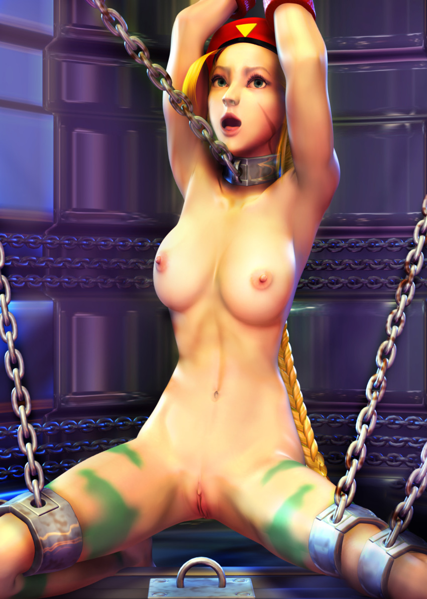 Female fantasy fighters nude exploited model