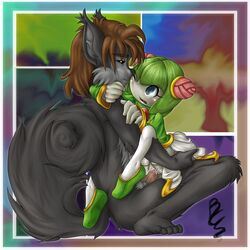 buttercup_saiyan cosmo cosmo_the_seedrian furry rodent sega sex sonic_(series) squirrel