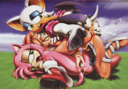 amy_rose amy_untold female hedgehog hi_res rouge_the_bat sega sonic_(series) tikal_the_echidna