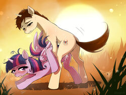 balls blush crossover cum female friendship_is_magic horn male marvel my_little_pony orgasm penetration penis sex spider-man straight sweat twilight_sparkle_(mlp) vaginal_penetration vaginal_penetration wings