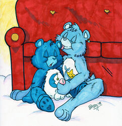 bedtime_bear care_bears gay lilifox tagme tugs