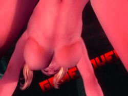 3d animated breasts game_over juliet_starling lollipop_chainsaw navel twintails