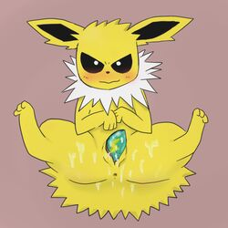 color female female_only fur furry jolteon nintendo nude pokemon pussy solo thumderstone vulva