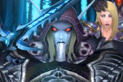 animated arthas_menethil human jaina_proudmoore lich_king rexxcraft sylvanas_windrunner tagme undead world_of_warcraft