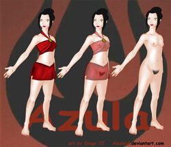 alcaloid avatar_the_last_airbender azula female female_only human solo tagme