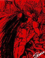amputee berserk gay griffith guts kiss male male_only multiple_boys nude shov tagme tentacle tentacle_on_male tentacles_on_male