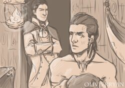 assassin's_creed connor_kenway haytham_kenway tagme