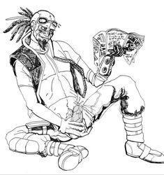 borderlands male male_only mordecai solo tagme