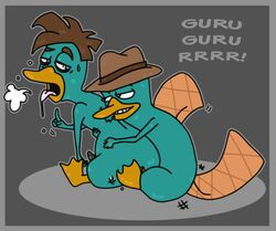 doofapus dr_heinz_doofenshmirtz fur male male_only mammal monotreme multiple_males perry_the_platypus phineas_and_ferb platypus tagme yaoi