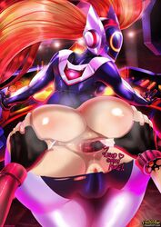 2girls anal anal_beads anal_fingering anal_insertion animated anus ass ass_grab bent_over big_ass bodysuit cameltoe dj dj_sona english_text exposed_anus exposed_butt fingering from_behind gape gaping_anus gif gloves helmet huge_ass jinx league_of_legends long_hair looking_back painted_nails purple_nails red_hair rip ripped skin_tight slap sona sona_buvelle spanking spread_anus sweat tear text therealshadman tights torn_bodysuit torn_clothes yuri