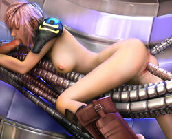 3d 3dbabes ass big_breasts eclair_farron final_fantasy_xiii legs nipples oral penis pink_hair pussy