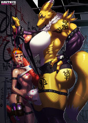 2girls anal_beads areola arm_sleeves ass bangs biceps bra bracelets caressing_testicles collar crying cum_on_face digimon dmitrys earrings eyebrow_piercing eyeshadow female femsub fingerless_gloves fishnet_stockings futa_with_female futadom futanari genderswap green_eyes hand_on_hip huge_areola huge_ass huge_balls huge_breasts huge_cock huge_nipples hyper hyper_balls hyper_breasts hyper_penis imminent_rape interspecies knot lactation large_breasts large_penis large_testicles leash lipstick long_tail looking_away makeup medium_breasts multi-colored_hair muscle_tone muscular_female nipple_piercing nipple_piercings nipples orange_hair paizuri perky_breasts piercing puffy_areola renamon rika_nonaka saliva scared sex_toys short_shorts size_difference skintight slave small_breasts smeared_lipstick smile smirk spiked_bracelet stockings tail tattoos tears testicle_grab testicles thick_lips thick_thighs thighs thong transgender veiny_penis yellow_fur