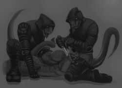 anal anal_sex argonian forced furry_only gay group male murskahammas oral oral_sex penetration rape reptile scalie sex the_elder_scrolls threesome video_games