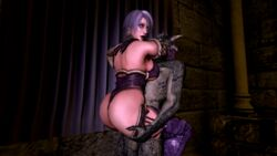 animated argonian ass balls big_ass breasts clothing female hair huge_ass isabella_valentine ivy male noname55 scalie sex skimpy straight the_elder_scrolls video_games