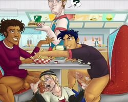 6teen fellatio jonesy_garcia jubell jude_lizowski wyatt_williams yaoi