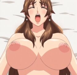animated animated breasts large_breasts miboujin_nikki milf sonomura_ayako stitched tagme