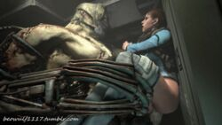 2014 3d animated balls beowulf1117 cgi erection female forced human jill_valentine male mammal monster penetration penis punching rape sex source_filmmaker ustanak vaginal_penetration vaginal_penetration
