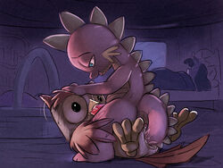 avian bird computer_olympics cum cum_in_mouth cum_inside dragon fellatio feral friendship_is_magic gay interspecies male my_little_pony night oral oral_sex owl owlowiscious_(mlp) penetration sex sleeping spike_(mlp) tail_sex twilight_sparkle_(mlp) young zoophilia