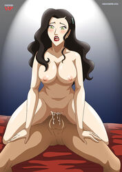 asami_sato avatar_the_last_airbender big_breasts breasts female green_eyes male moan orgasm penis reverse_cowgirl_position sex the_legend_of_korra vaginal_penetration