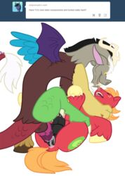 alpha_channel anal anal_sex animal_genitalia antlers balls big_macintosh_(mlp) black_penis closed_eyes cutie_mark discord_(mlp) domination draconequus dragon duo equine forced friendship_is_magic gay hooves horn horse horsecock invalid_tag knot looking_down male mammal my_little_pony open_mouth penetration penis plain_background pony rape red_body scalie talons tongue tongue_out transparent_background unknown_artist wings