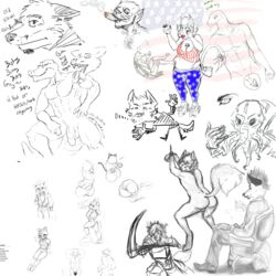 alligator america arthropod ass boogz bulge canine chair cigar clothing cockroach cthulhu cthulhu_mythos drawpile feline feline fox fox_mccloud fredryk_phox h.p._lovecraft hands_tied insects jame_faulken katt_monroe kitch_dhogan kremath lizard mammal nintendo penis raised_tail reptile scalie schizowolf scythe smoke speedo star_fox swimsuit video_games weapon wolf yoga_pants zenifox zorrestrella