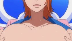 animated breasts huge_breasts nami one_piece