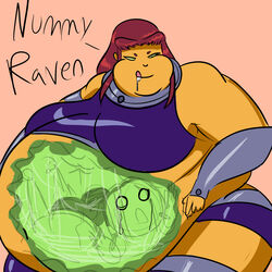 chubby raven starfire teen_titans vore