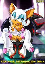 furry mobius_unleashed palcomix rouge rouge_the_bat sega shadow shadow_the_hedgehog sonic_the_hedgehog
