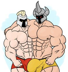 bara gay league_of_legends male male_only mordekaiser multiple_boys pantheon tagme yaoi