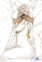 2boys animal_ears areolae bar_censor blush breasts burmecian censored erection female final_fantasy final_fantasy_ix freija_crescent fur furry group_sex hair_down heart large_areolae large_breasts large_penis long_hair multiple_boys nipples nude penis perky_breasts rat_ears rat_tail ribbon sex sindoll solo_focus sweat tail tail_ribbon threesome veins veiny_penis