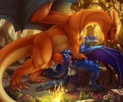 015 anal anal_sex anthro anthro_on_feral ass balls barbed_penis barefoot big_balls big_feet big_penis blue_dragon charizard claws cum cum_in_ass cum_inside cum_on_ass cum_on_balls cum_on_floor cum_on_ground cum_on_penis danza dragon drooling duo erection feral fire flame forest furry furry_only gay happy_sex horn huge_cock interspecies knot looking_back looking_down male nintendo nude open_mouth orgasm outside penetration penis pokemon saliva sex sharp_claws sharp_teeth size_difference smile tabra thick_penis toe_claws tongue tongue_out tree video_games wings zoophilia