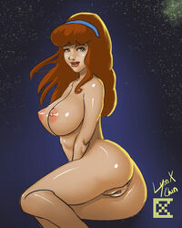 anus breasts daphne_blake female hanna_barbera human large_breasts looking_at_viewer nipples nude pussy scooby-doo solo uncensored