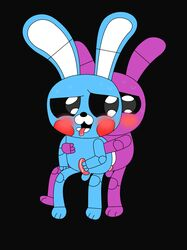 anal anal_sex animatronic anthro blush bonnie_(fnaf) cum erection five_nights_at_freddy's five_nights_at_freddy's_2 lagomorph machine male mammal mechanical open_mouth penetration penis rabbit robot sex smile tongue toy_bonnie_(fnaf) yaoi yoshi33866