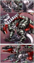 anal balls big_penis bulge comic cum cum_in_ass cum_inside dialogue dragon erection excessive_cum filled forced inflation inflation male male/male overflow penetration penis rape remi sabretoothed_ermine scalie sex size_difference syrrik