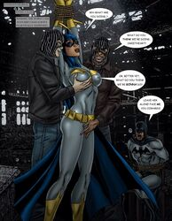 barbara_gordon batgirl batman batman_(series) comic comixxx dc matt_johnson rape tied