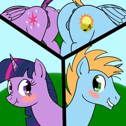 anus ass dsninja equine female friendship_is_magic harmony_star heart hill horn horse male mammal my_little_pony pony pussy twilight_sparkle_(mlp) wings