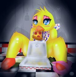 five_nights_at_freddy's five_nights_at_freddy's_2 tagme toy_chica_(fnaf)