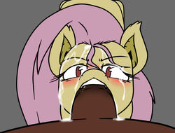 animal_genitalia bat blush brown_fur brown_penis cum cum_in_hair cum_in_mouth cum_inside cum_on_face duo equine faceless_male fangs fellatio female first_person_view flutterbat_(mlp) fluttershy_(mlp) friendship_is_magic fur grey_background hair half-closed_eyes horse horsecock looking_at_viewer male male/female mammal my_little_pony no_pupils open_mouth oral penis pink_hair plain_background pony sex sparkscut teeth yellow_fur