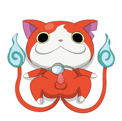 cat_penis fahren jibanyan male male_only nekomata penis youkai_watch