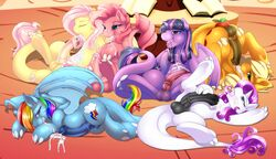 after_masturbation animal_genitalia applejack_(mlp) autofellatio balls black_penis blonde_hair blue_fur blue_hair blue_penis brown_penis camychan closed_eyes cum cum_in_mouth cum_inside cum_on_face cum_on_ground cum_on_hand cum_on_penis cum_on_self cum_on_tongue cutie_mark dickgirl dragon erection fluttershy_(mlp) friendship_is_magic fur grey_penis group hair half-closed_eyes half-erect horn horsecock inside intersex looking_at_viewer masturbation multicolored_hair my_little_pony nude open_mouth oral orange_fur orgasm penis pink_fur pink_hair pinkie_pie_(mlp) purple_fur purple_hair rainbow_dash_(mlp) rainbow_hair rarity_(mlp) scalie smile spread_legs spreading the_mane_six tongue tongue_out twilight_sparkle_(mlp) two_tone_hair white_fur wings yellow_fur