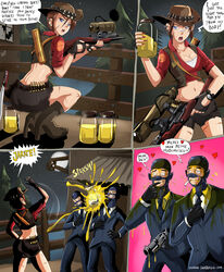 ass female high_heels spy team_fortress_2 the_spy video_games