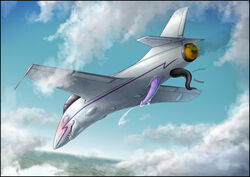 aeromorph aircraft airplane anal anal_insertion anal_sex anal_vore blush cum erection insertion living_aircraft living_machine machine male mechanical penetration penis valravnconcorde vore