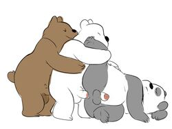 anal anal_sex animated balls bear glitter_trap_boy grizzly_(character) grizzly_bear group group_sex ice_bear male male/male mammal panda panda_(character) penetration penis polar_bear sex threesome train_position we_bare_bears
