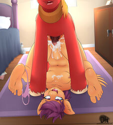 2015 animal_genitalia anthro anthro_on_feral anthrofied balls barefoot bed bedroom big_macintosh_(mlp) breasts clothing cum cum_in_pussy cum_inside cupboard darkhazard duo equine female feral friendship_is_magic fur hair horse horsecock humanoid_feet inside interspecies male male/female mammal my_little_pony navel nipples open_mouth orange_fur panties panties_around_one_leg pegasus penetration penis pillow plantigrade plushie pony purple_hair pussy red_fur scootaloo_(mlp) sex smartypants_(mlp) soles spread_legs spreading tongue underwear vaginal_penetration vaginal_penetration wings zoophilia