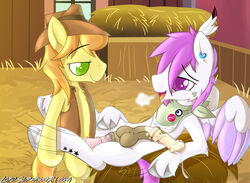 breaburn cannon cartoon equine fan_character friendship furffles horse invalid_tag is magic male male/male mammal my_little_pony pony ranged_weapon weapon